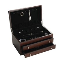 Large 2 Drawer Chest Jewelry Box