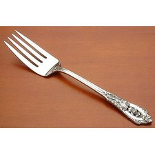Rose Point Salad Serving Fork
