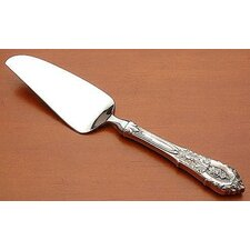 Rose Point Cheese Serving Knife with Hollow Handle