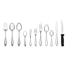 Tuscany 101 Piece Bead Flatware Set