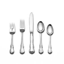 French Provincial 66 Piece Flatware Set