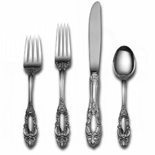 Sterling Silver Grande Duchess 66 Piece Dinner Flatware Set