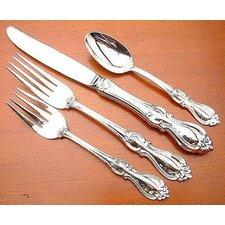 Sterling Silver Queen Elizabeth 4 Piece Dinner Flatware Set