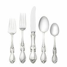 <strong>Towle Silversmiths</strong> Queen Elizabeth 5 Piece Flatware Set