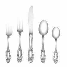 Sterling Silver Grande Duchess 5 Piece Flatware Set