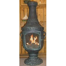 Venetian Style Chiminea with Gas Kit