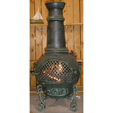 <strong>The Blue Rooster</strong> Gatsby Style Chiminea with Gas Kit