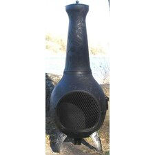 <strong>The Blue Rooster</strong> Dragonfly Chiminea