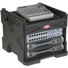 Roti Mini Gig Rig Audio / Video / Media Case with Pop - Up Rack