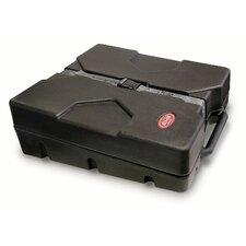 "Roto Molded ATA Style Utility Case in Black: 4.25"" H x 18"" W x 17"" D (Interior)"