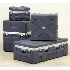 "Roto X Shipping Case in Gray without Foam: 12"" H x 18"" W x 14"" D (Interior)"