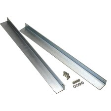 """28"""" Support Rail in Gray"""