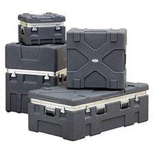 "RX Series: Rugged Roto-X Shipping Foot Locker Case:  17 9/16"" H x 20 1/8"" W x 23 13/16"" D (outside)"