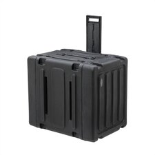 "8U Roto Rolling Shock Rack Case - 20"" Deep"