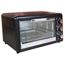 0.6 Cubic Foot Toaster Oven Broiler
