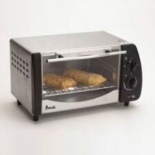 4- Slice Stainless Steel Toaster Oven w/ Broiler
