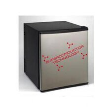 <strong>Avanti Products</strong> 1.7 Cu. Ft. Superconductor Fridge (Over boxed) in Black with Stainless Steel Door