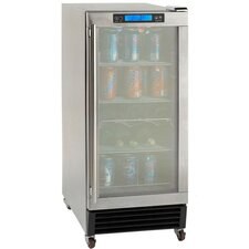 3.2 CF Built-In Outdoor Refrigerator with Glass Door
