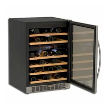46 Bottle Single Zone Built-In Wine Refrigerator