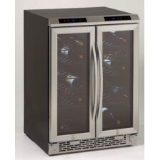 19 Bottle Dual Zone Wine Refrigerator