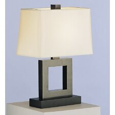 """Doughnut Duncan 20.75"""" H Table Lamp with Rectangle Shade"""