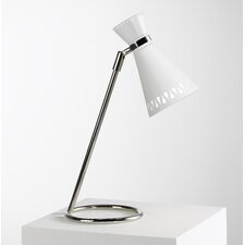 "Jonathan Adler Havana Task 16.5"" H Adjustable Table Lamp with Empire Shade"
