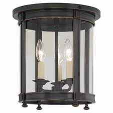 <strong>Robert Abbey</strong> Blake 3 Light Flush Mount