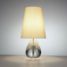 "Claridge Teardrop 20"" H Table Lamp with Empire Shade"