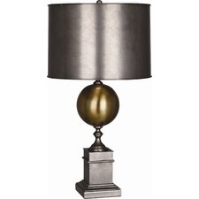 "Mm Regine 32"" H Table Lamp with Drum Shade"