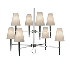 <strong>Robert Abbey</strong> Jonathan Adler Ventana 8 Light Chandelier