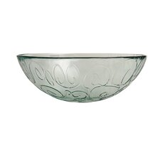 "Mediterranean Wave 12"" Serving Bowl"