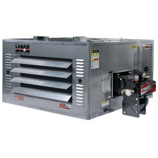 MX-Series 200,000 BTU Waste Oil Heater with Wall Chimney and 215 gal Tank