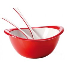 Trendy Bowl, Colander and Salad Servers Set
