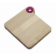 Woody Cutting Board with Handle