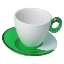 Spot Coffee Teacup (Set of 4)