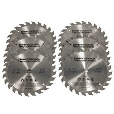 Tungsten Carbide Miter Saw Blade (Set of 6)