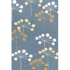 Sawgrass Mills Juneberry Blue Indoor/Outdoor Rug