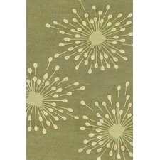 Sawgrass Mills Sparkler Green Indoor/Outdoor Rug