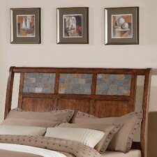 <strong>Vantage Fine Furniture</strong> Carlisle Mosaic Panel Headboard