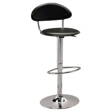 "19.75"" Adjustable Swivel Bar Stool with Cushion"