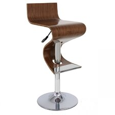 Contemporary Wooden Barstool