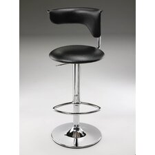 Leatherette Swivel Barstool with Gas Lift