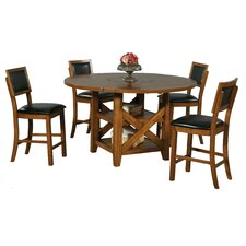 <strong>Winners Only, Inc.</strong> Westchester 5 Piece Counter Height Dining Set