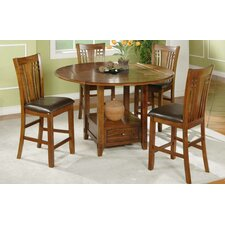 Zahara 5 Piece Counter Height Dining Set