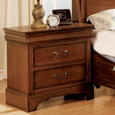 Renaissance 2 Drawer Nightstand