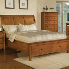 <strong>Winners Only, Inc.</strong> Vintage Storage Sleigh Bed