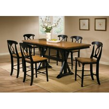 <strong>Winners Only, Inc.</strong> Quails Run 7 Piece Counter Height Dining Set