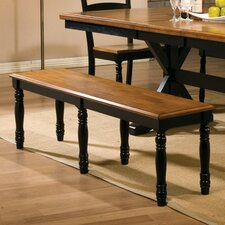 Quails Run Wood Kitchen Bench