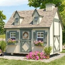 <strong>Little Cottage Company</strong> Cape Cod Small Playhouse Kit with Floor