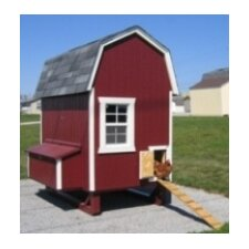<strong>Little Cottage Company</strong> Gambrel Barn Chicken House with Nesting Box and Ramp